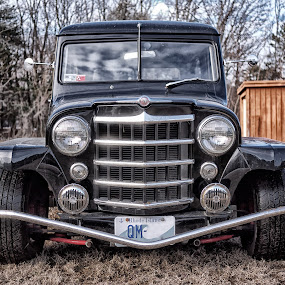 49 Willys Grill by Alan Roseman - Transportation Automobiles ( new england, 49 willys, willys jeep, willys,  )