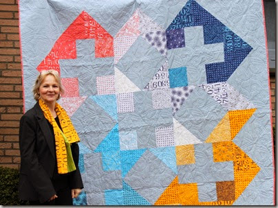 BIG PLUS modern quilt pattern ZEN CHIC