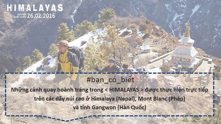 HIMALAYAS Đang chiếu tại CGV Himalayas là bộ phim có bối cảnh