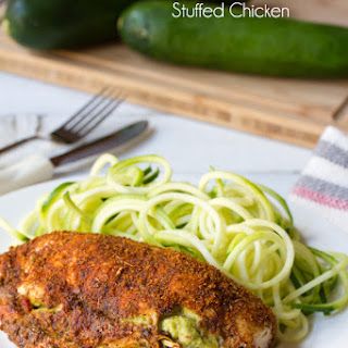 Stuffed Chicken Breast Recipe (Guac and Cheese)