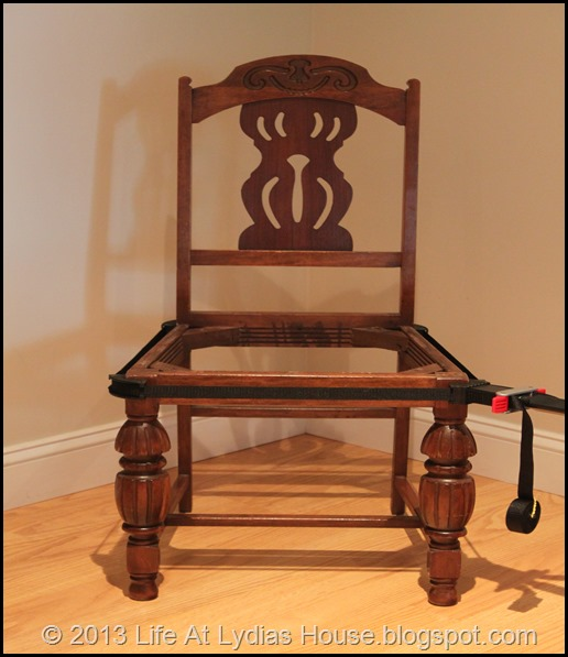 clamped chair