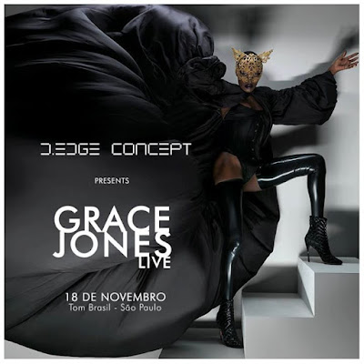 Sao Paulo Grace Jones 18th November 2016 Dont Miss Out