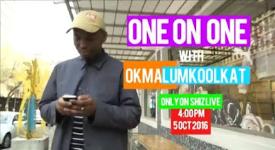 TV Catch Okmalumkoolkat on Shiz Live tomorrow 4pm on etv