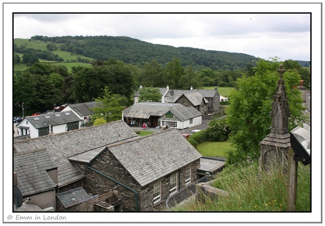 A Dizzying View of Hawkshead