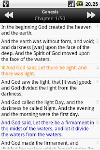 Holy Bible (KJV) - screenshot thumbnail