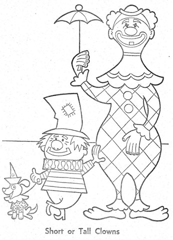 palhaço-colorir-Clowns To Color-coloring page-00003