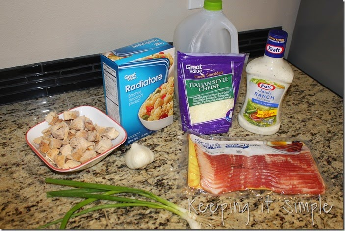 #shop Cheesy Bacon Ranch Chicken Casserole #FoodDeservesDelicious (2)