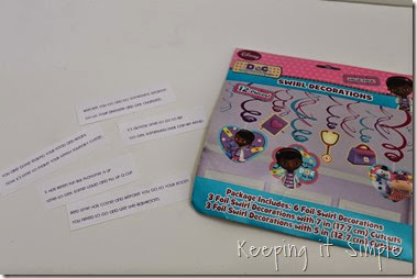 Doc Mcstuffins Slumber Party Game Ideas Juniorcelebrates