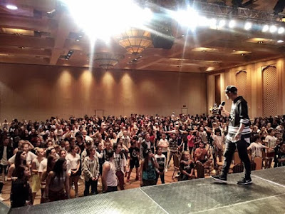 Class at HHI in Vegas today insane appreciate all 500 of u that came out and killed