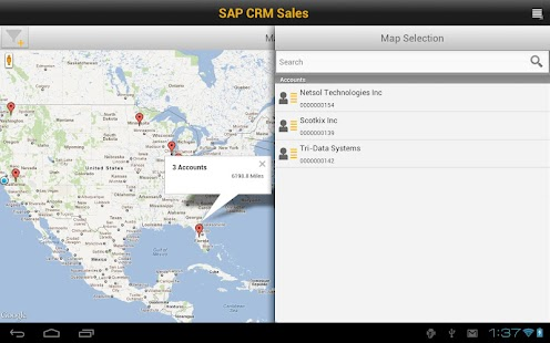 SAP CRM Sales- screenshot thumbnail