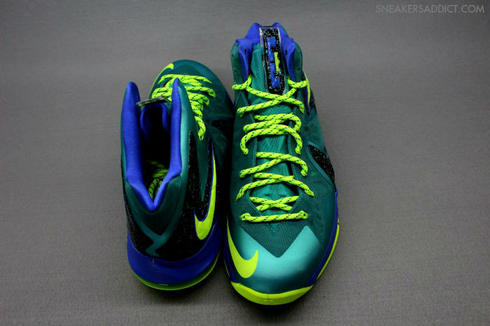 """A Detailed Look at LeBron X PS Elite """"Turquoise"""" Slated ...  Lebron 10 Elite Turquoise"""