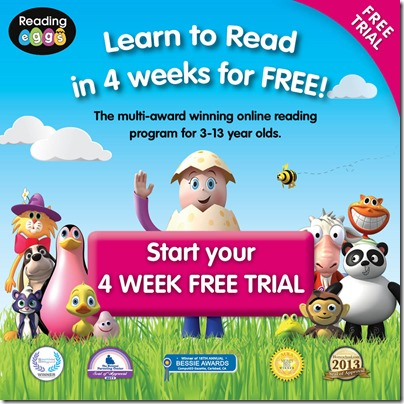 Learn to Read in 4 Weeks for FREE with Reading Eggs