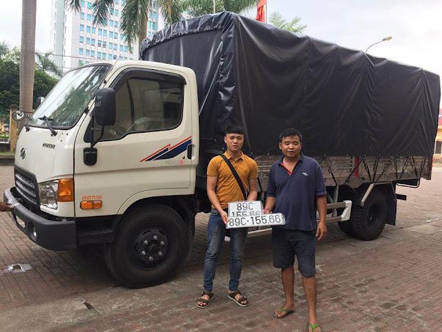 Khách hàng ở Hưng Yên mua xe Hyundai HD120sl 8 tấn