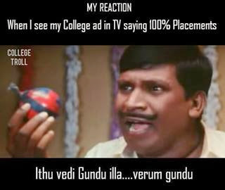 Funny Tamil Nadu Engineering College Admission Ads Meme Jokes