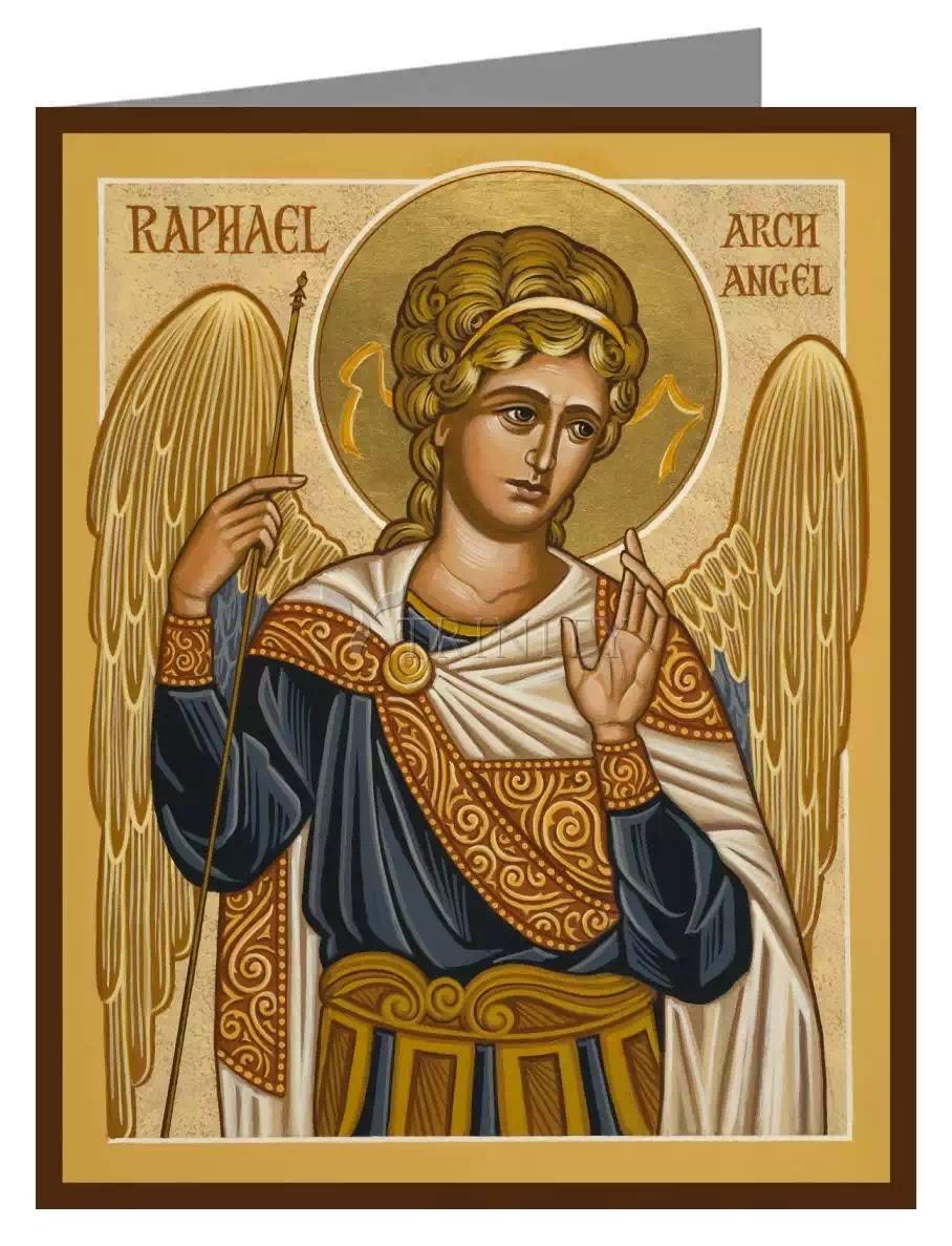 """Tổng lãnh thiên thần Ra-pha-en, thầy thuốc an ủi, chữa trị """"mát tay"""" cho những ca đau khổ"""