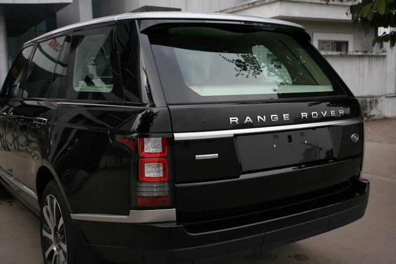 Xe Land Rover Range Rover Autobiography LWB Full Oftion màu đen 05