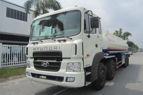 Xe téc xăng dầu Hyundai HD320