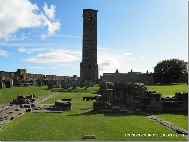 St. Andrews. Catedral, Torre de St. Rules-PA080438