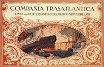 Compañia Trasatlántica cartel