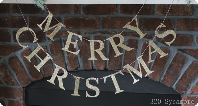 merry christmas banner pottery barn
