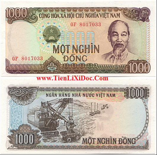 1.000 đồng Việt Nam 1987