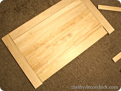 DIY wood tabletop