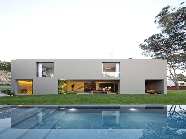 diseño de piscina arquitectura quinta patino