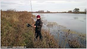На рыбалке под Астраханью.