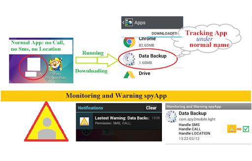 Detect spyApp