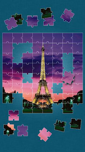 パリ ジグソーパズル ゲーム