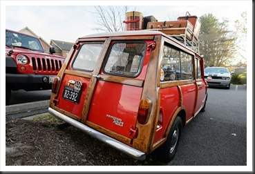 Katie's Cars and Coffee - 1966 Innocenti Mini T Woody