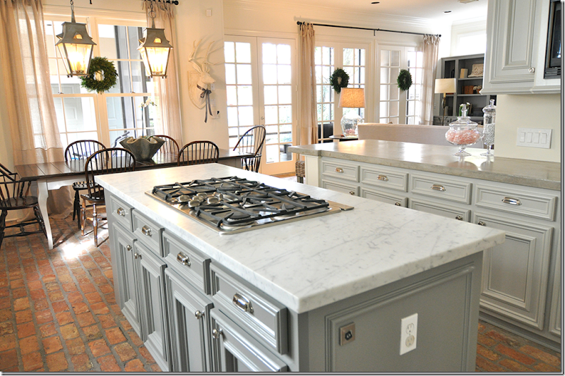 Kitchen Counter Marble white kitchen countertops pictures ideas from hgtv hgtv Image