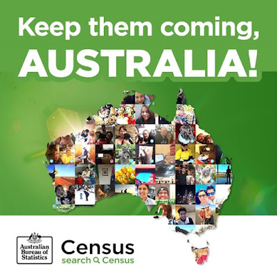 Around 95 per cent of households have completed the Census Keep them coming Australia