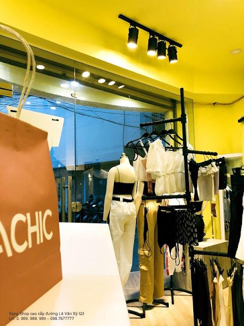Cần Sang gấp Shop hàng hiệu cao cấp đường Lê Văn Sỹ Quận 3-007