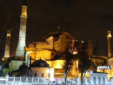 Obiective turistice Istanbul: Catedrala Sf. Sofia Constantinopole