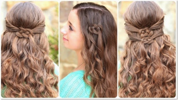 10 Unique Hairstyles for the School Week-Celtic-Knot
