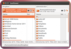 sunflower-is-a-dual-pane-file-explorer-for-ubuntu-linux_1