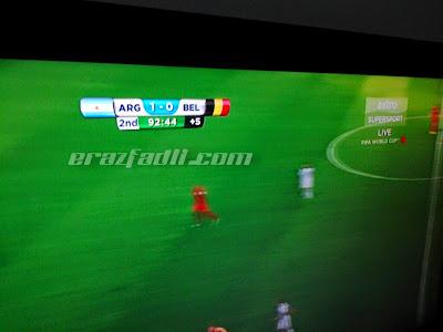 Keputusan Argentina vs Belgium Piala Dunia 2014