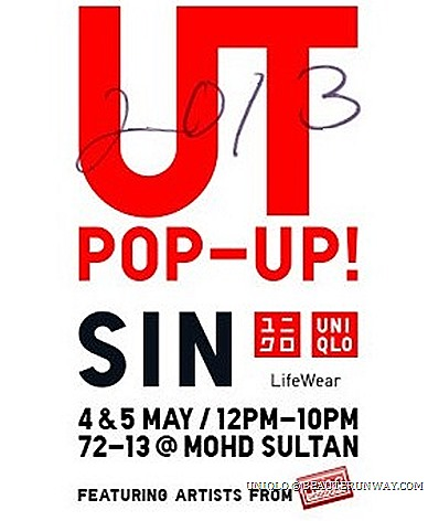 UNIQLO UT POP UP Tokyo Shibuya Station New York City Truckshop Gansevoort Plaza London Hoxton Gallery The Arch Paris Marais 13 rue des Archives Taipei ATT4FUN Kaohsiung HuaShan TaiChung Manila - Ayala Triangle, Makati City Singapore