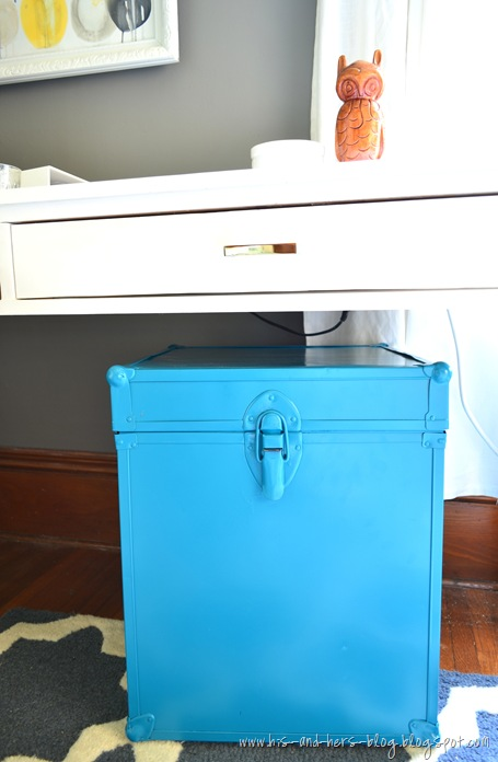 convert a trunk to a  file box