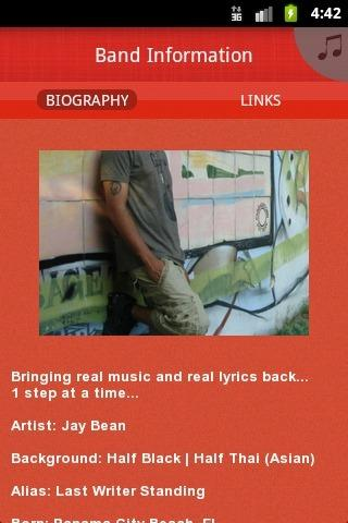 Jay Bean - screenshot