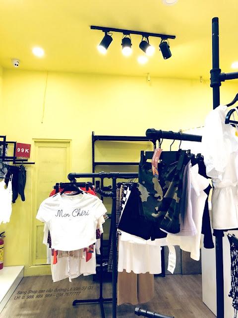 Cần Sang gấp Shop hàng hiệu cao cấp đường Lê Văn Sỹ Quận 3-009