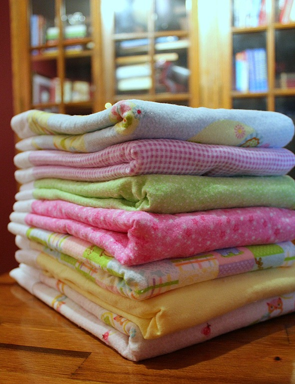 make your own baby blankets
