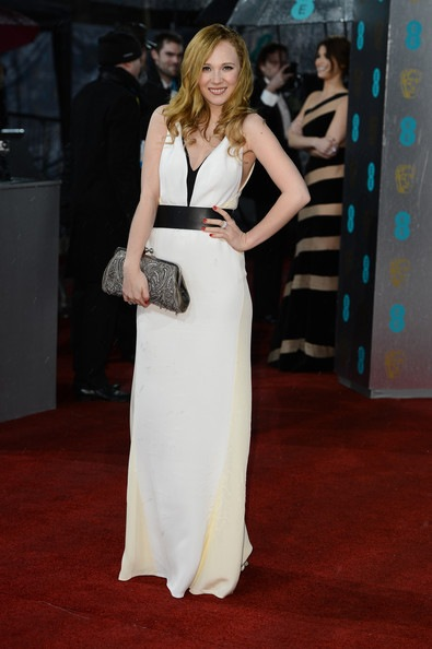 Juno Temple attends the EE British Academy Film Awards