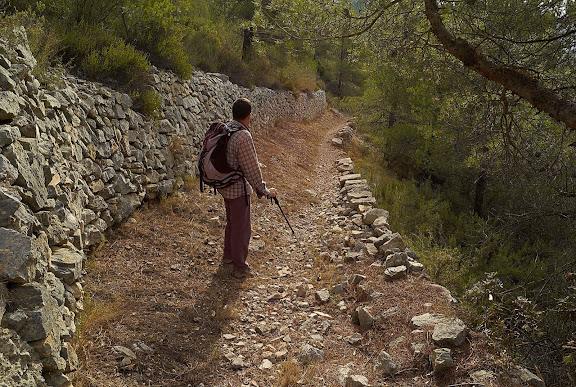 Camí ral entre Cabacés i la Vilella Baixa,Cabacés, Priorat, Tarragona