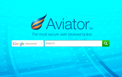 Aviator Secure Chrome Alternative Web Browser