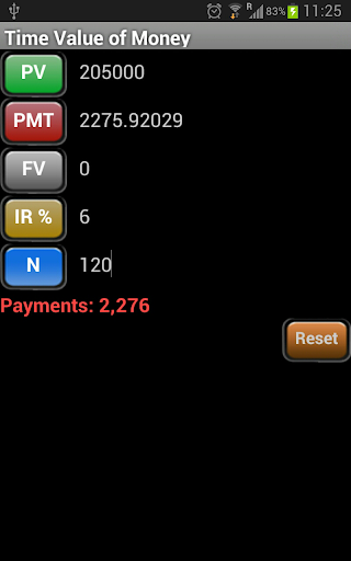TVM Calculator