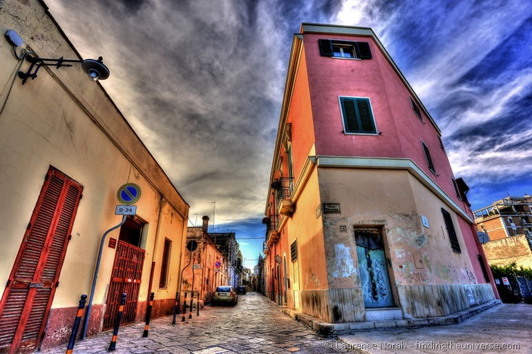 Brindisi back streets Italy