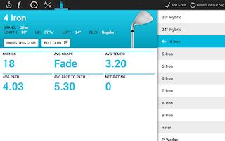 Screenshot of Swingbyte