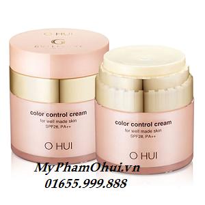 Ohui CC Cream dưỡng da, chống nắng. CC color control Cream SPF28+